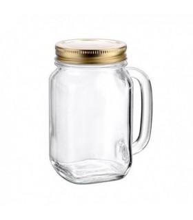 Jarritas, tarros y botellas de cristal